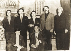 Gulen in the 1990s (the second on the left)