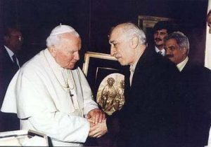 Gulen and Papa John Paul II