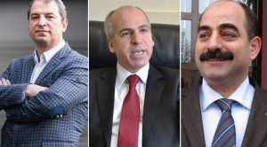 FETO aligned prosecutors Celal Kara, Mehmet Yuzgec and Zekeriya Oz