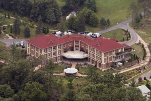 The retreat in Saylorsburg, Pennsylvania houses Fetullah Gulen who faces life imprisonment in multiple trials in Turkey