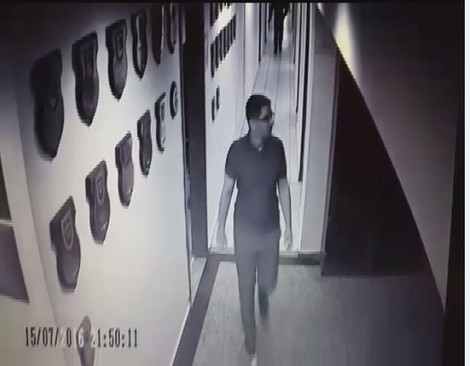 Batmaz was caught by CCTV cameras at the Akıncı Air Base, the decision center of the coup, on the night of July 15.